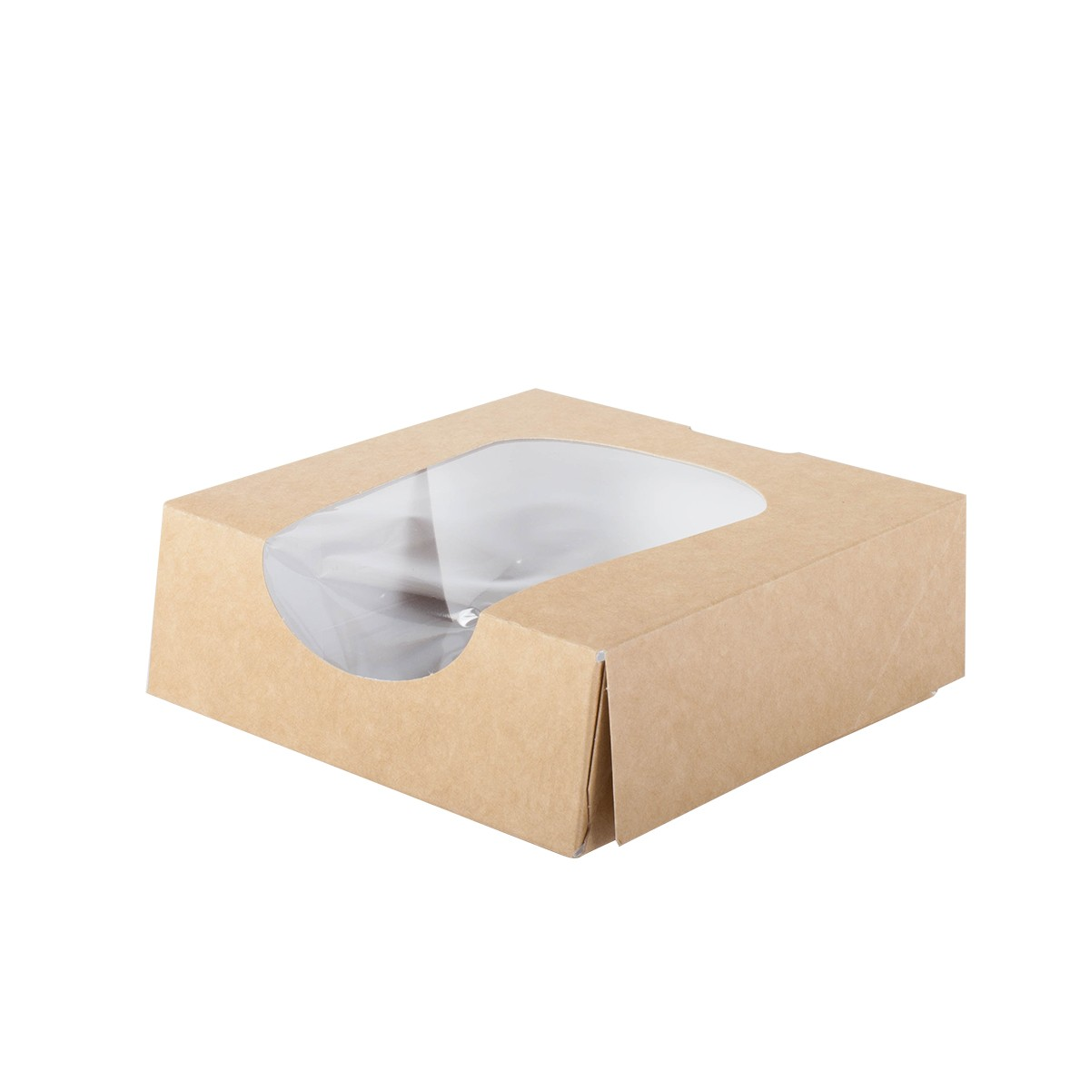 boite snacking carton avec fenetre vente à emporter