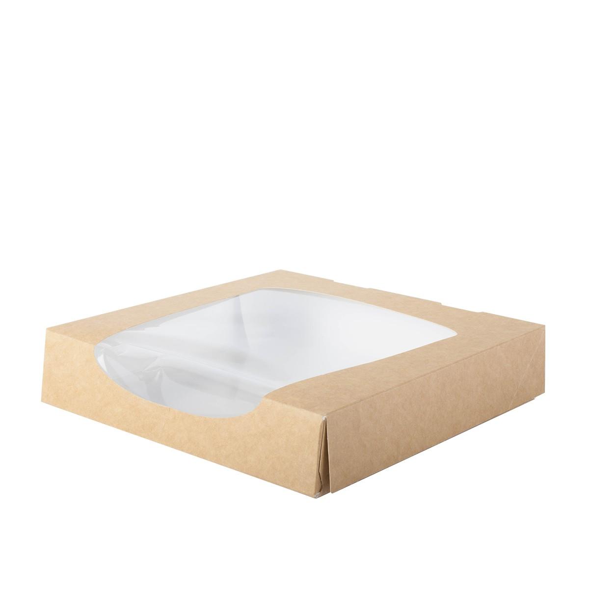 boite patissiere carton avec fenetre taille XL