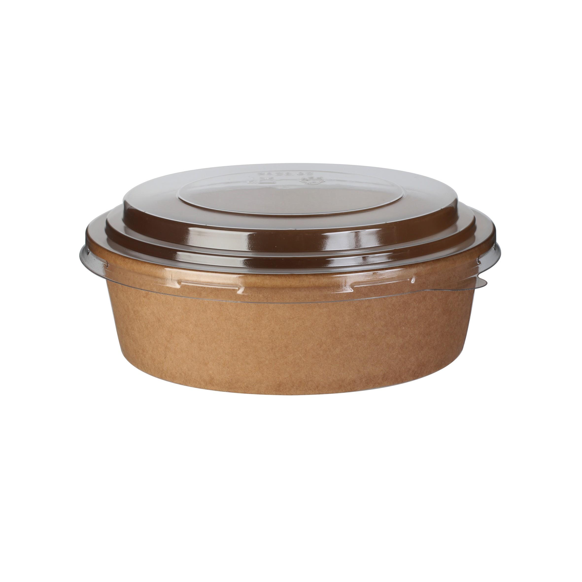 saladier kraft 500 ml avec couvercle