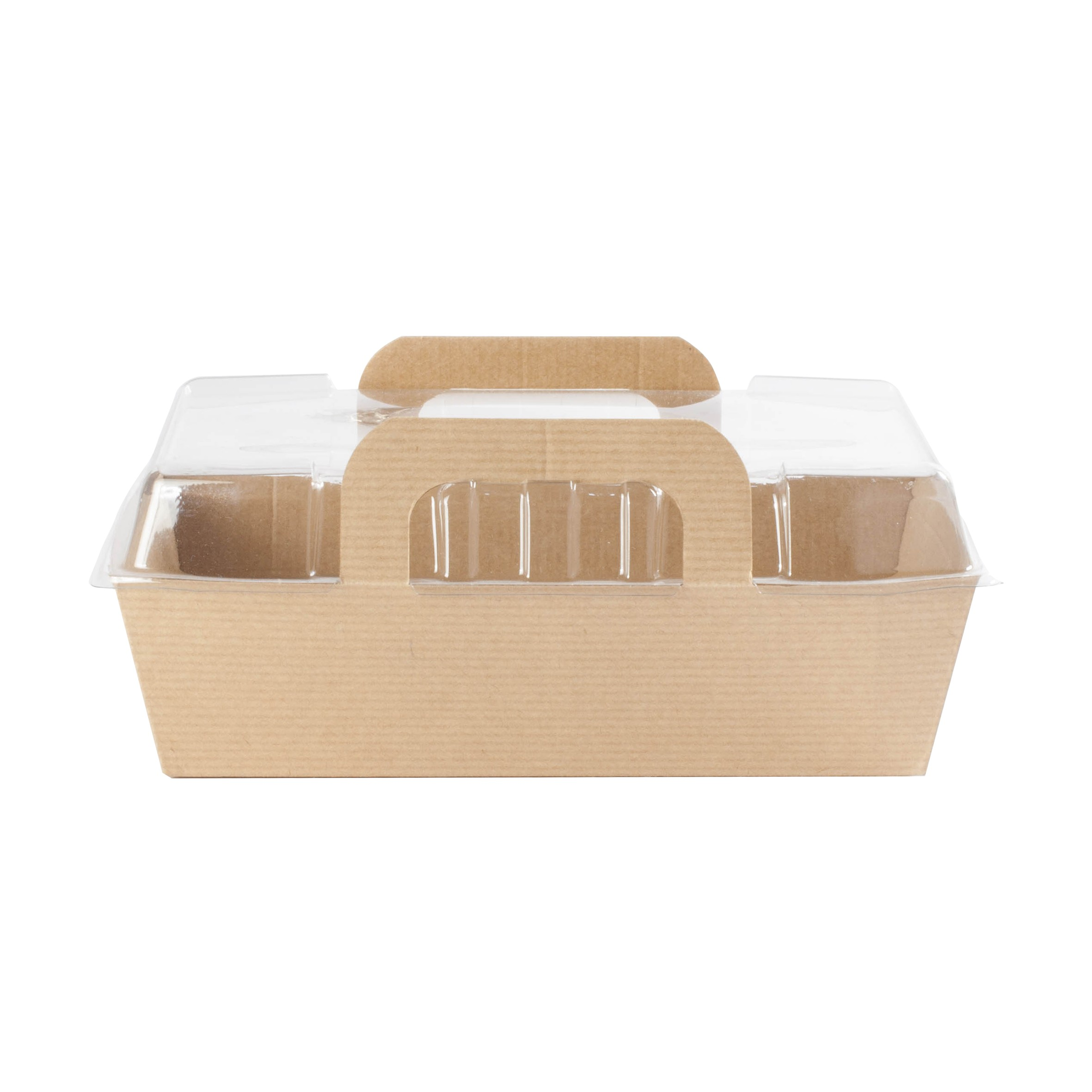barquette alimentaire carton avec couvercle
