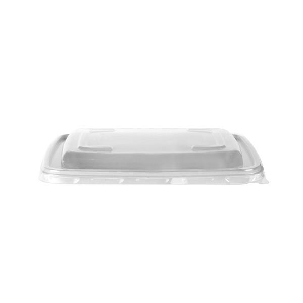 Couvercle Micro Ondable pour boite rectangulaire Micro ondable 60 et 90 cl