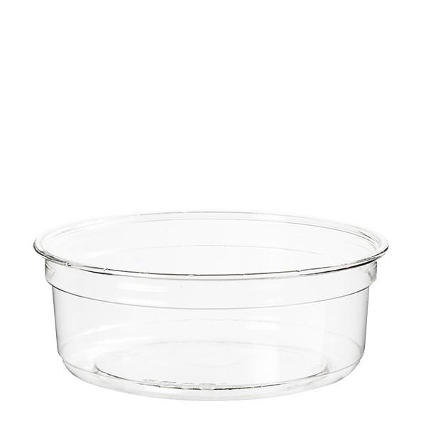 pot en plastique transparent jetable 237 ml