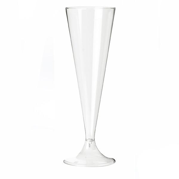 flute a champagne  jetable transparente 13 cl