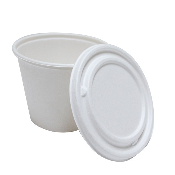 pot a soupe compostable 490 ml
