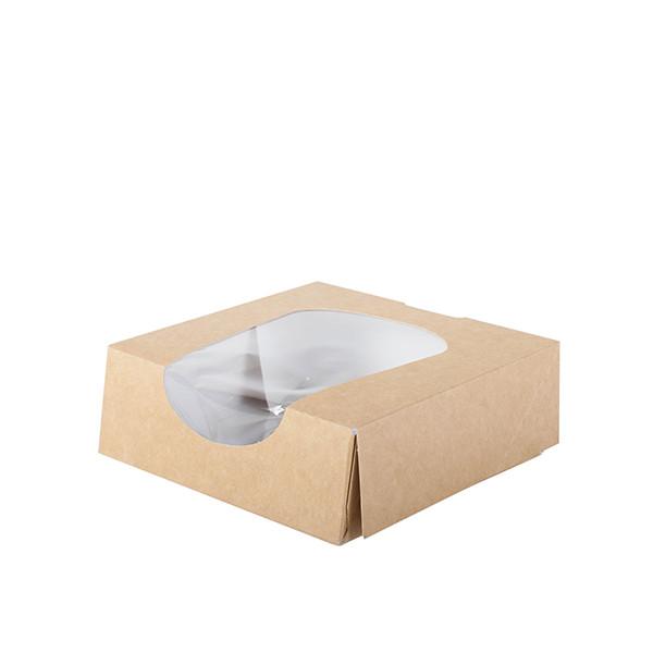 boite carton alimentaire avec fenetre taille S