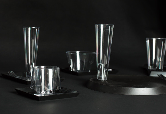 concept vaisselle jetable Starck