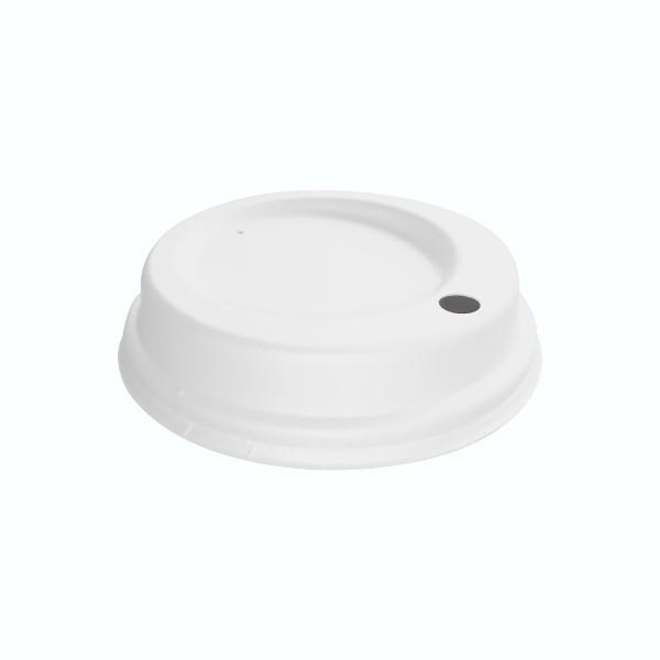 Couvercle fibre pour gobelet carton 35 cl