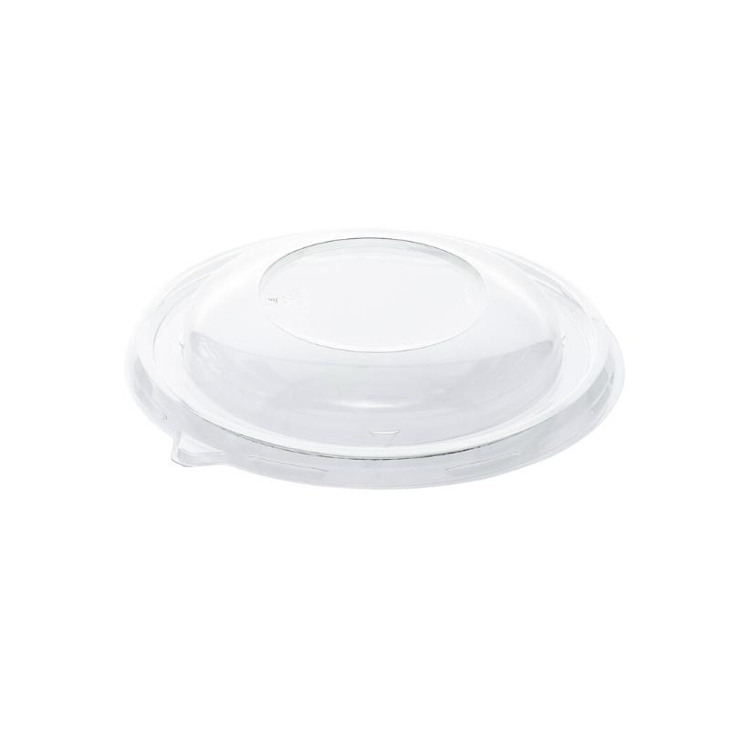 Couvercle en rPET pour saladier pulpe poké bowl 375 ml