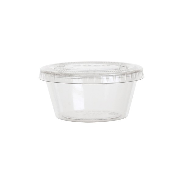 pot plastique transparent
