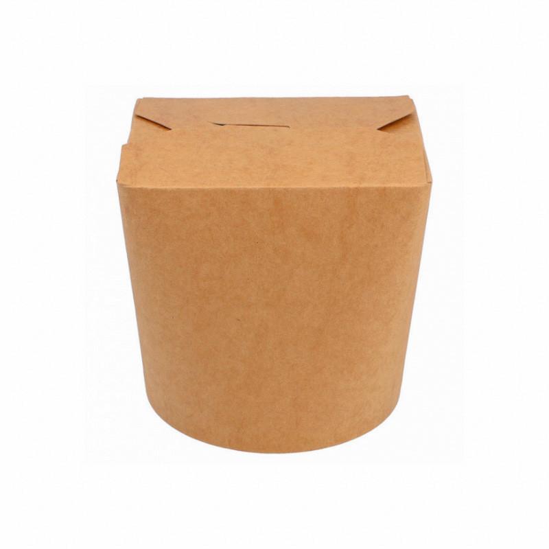 boite à pâtes kraft brun