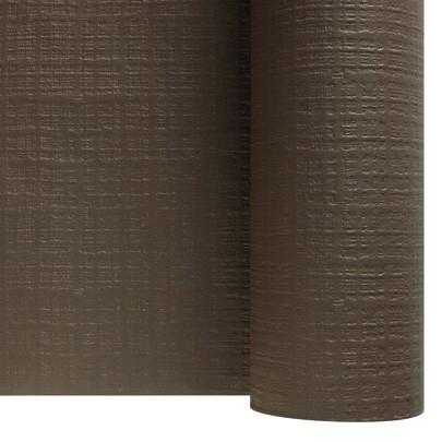 Rouleaux papier toile de lin marron