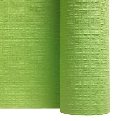 Rouleaux papier toile de lin pistache