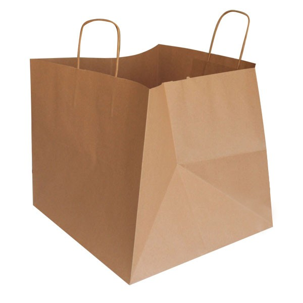sac kraft grand modèle pour vente à emporter