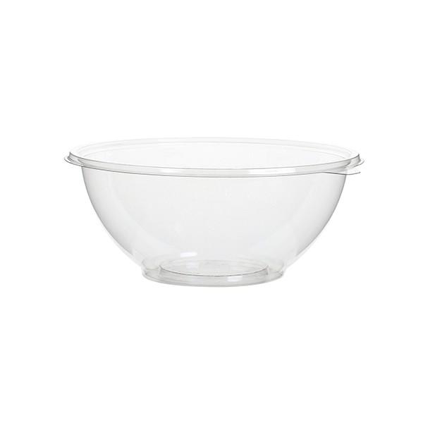 saladier jetable transparent de 750 ml avec couvercle