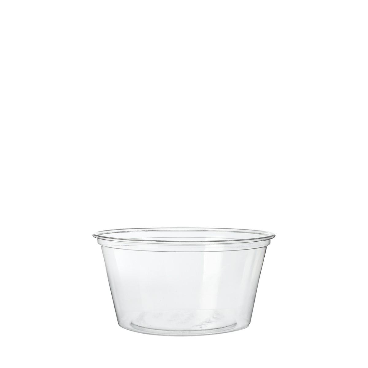 pot plastique pour sauce à emporter