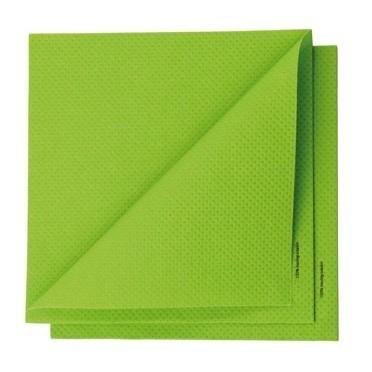 serviette compostable écologique verte