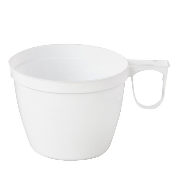 Tasse a café jetable blanche 20 cl