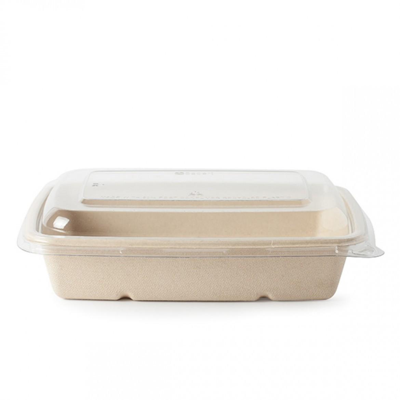 barquette compostable avec couvercle