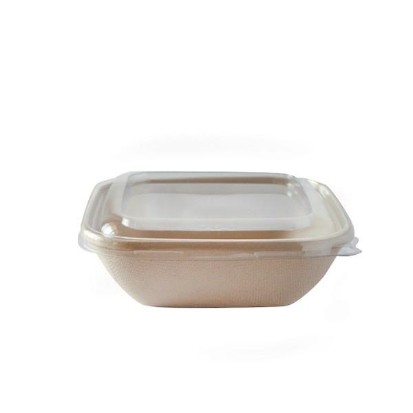 barquette alimentaire écologique pulpe de canne 375 ml