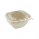 Barquette alimentaire compostable 375 ml