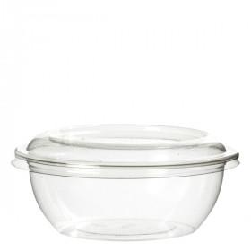 Pot à dessert base arrondie en PET 170 ml