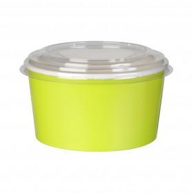 Boite à salade carton verte 100 cl