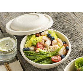 Saladier Poke Bowl canne à sucre 750 ml